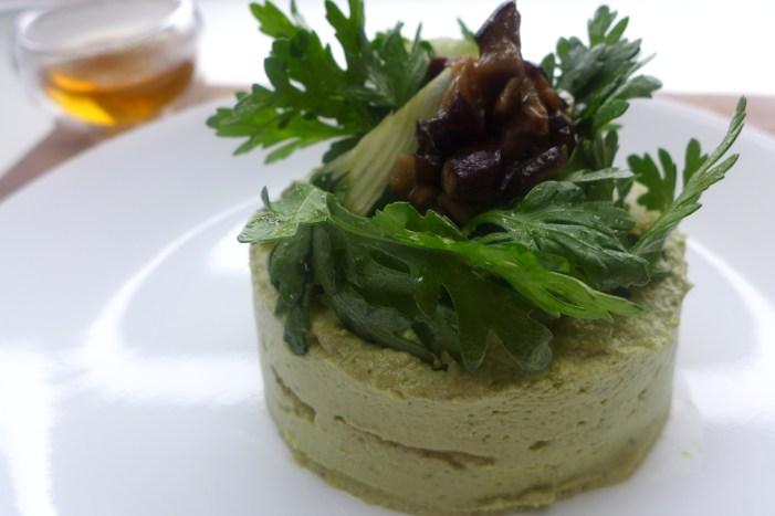 raw asparagus pate