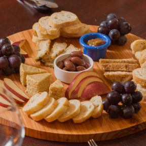 tree-nut cheese platter