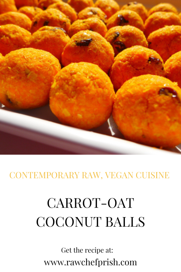 Learn how to make Carrot-Oat-Coconut Balls